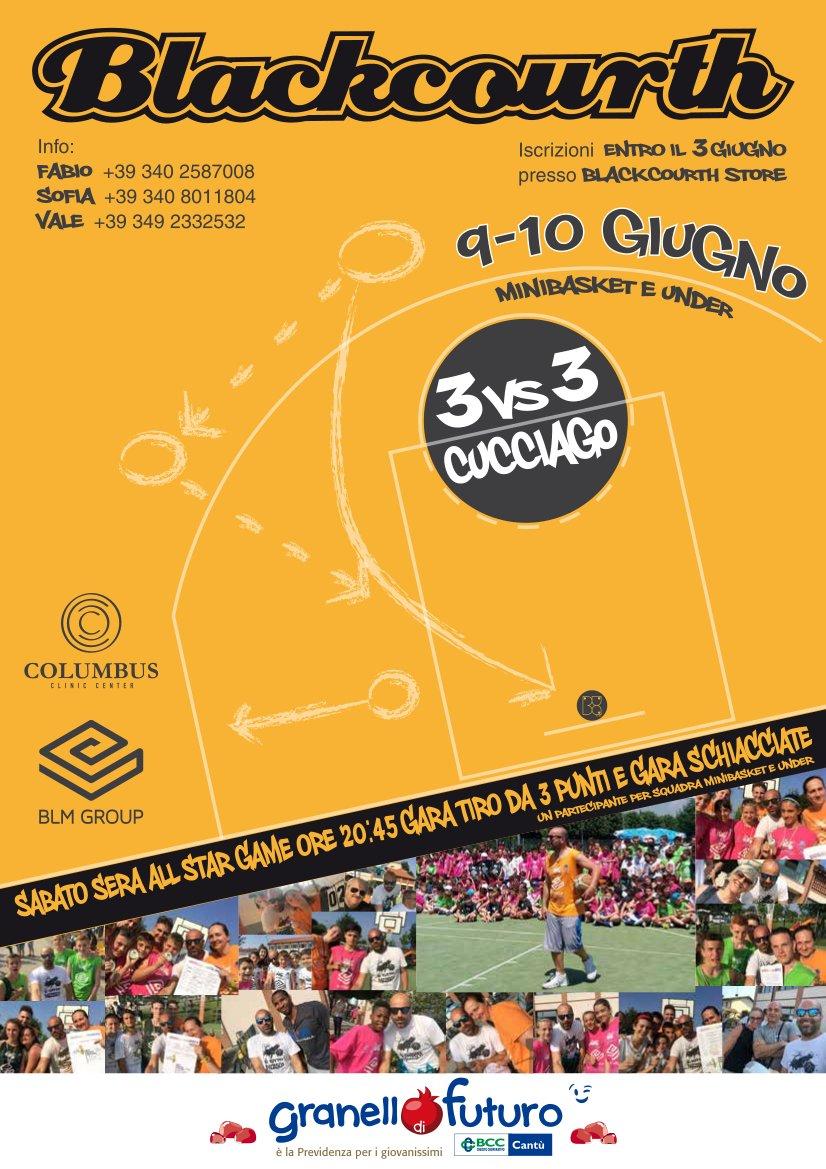 Torneo 3vs3 a Cucciago